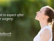 post nose surgery