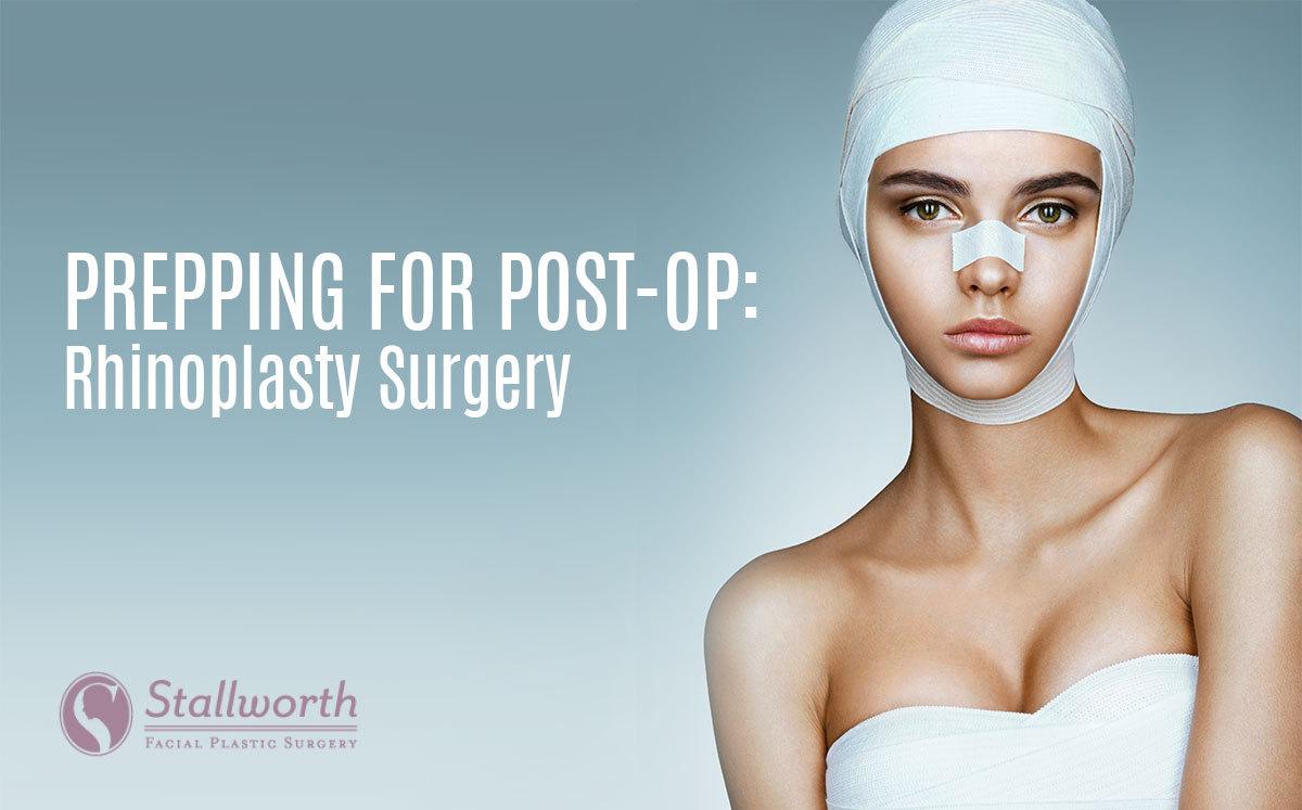 rhinoplasty post-op